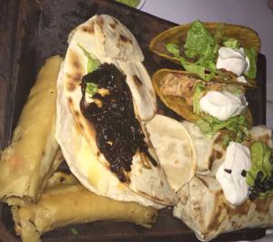 Botona (Tacos, Burrito, Flautitas and Quesadillas) from Taco Box.