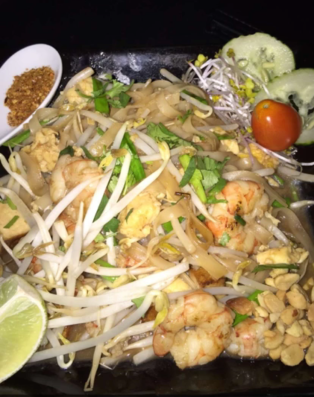Shrimp Pad Thai from Koh Lanta